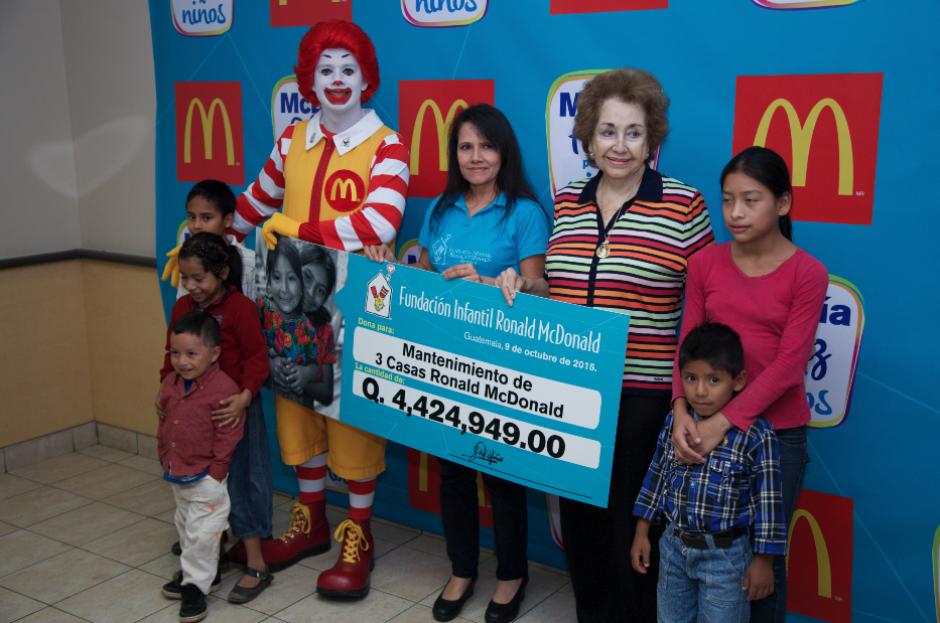 Este año es la 17 edición del McDía Feliz a beneficio de los niños de Guatemala. (Foto: Eddie Lara/Soy502)