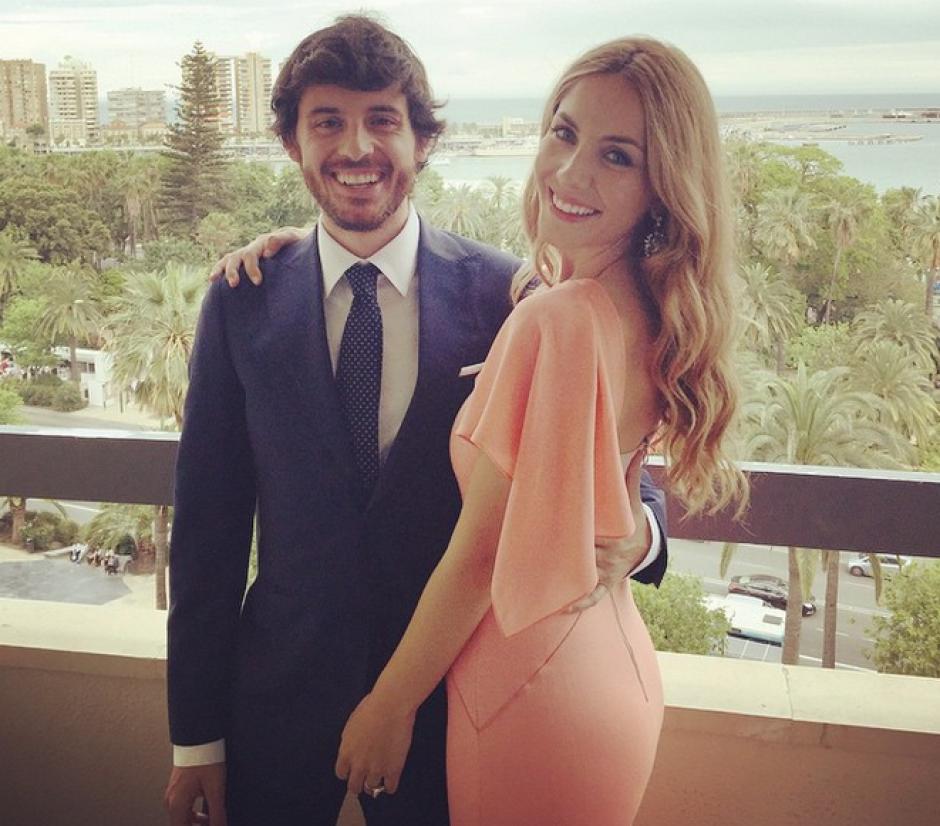 La hermana de Álvaro Morata y su novio, el actor español Javier Pereira. (Foto: Instagram @marta_abril)