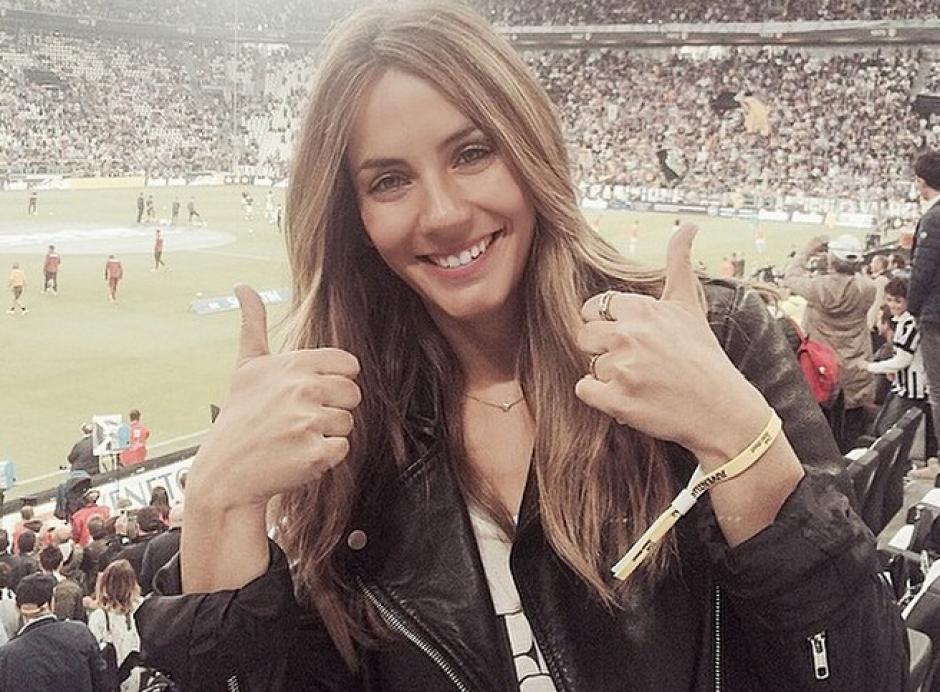 Marta Abril disfruta de viajar a Italia para ver los juegos de su hermano con la Juventus