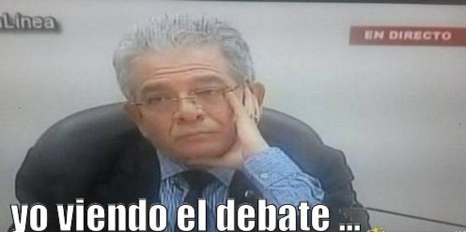 Los guatemaltecos explotaron su creatividad en el debate presidencial. (Foto: Twitter)