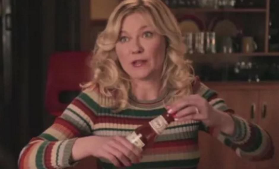 """La figura de Kirsten Dunst se vio modificada debido a las 40 libras extras que necesitaba para participar en """"Fargo"""""""