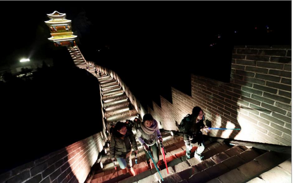"""Con esta actividad, Disney espera atraer a los espectadores chinos al estreno de """"El despertar la fuerza"""". (Foto: emol.com)"""