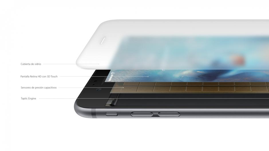 Usar 3D Touch no puede ser más fácil, pero la tecnología que hay detrás es increíblemente avanzada. (Foto: Apple)