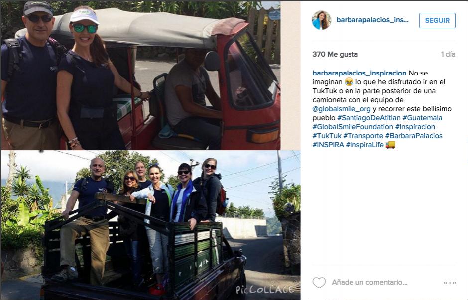 Bárbara Palacios ha experimentado vivencias únicas de un pueblo como subirse a la palangana de un pickup o viajar en un tuc tuc.(Foto: Bárbara Palacios)