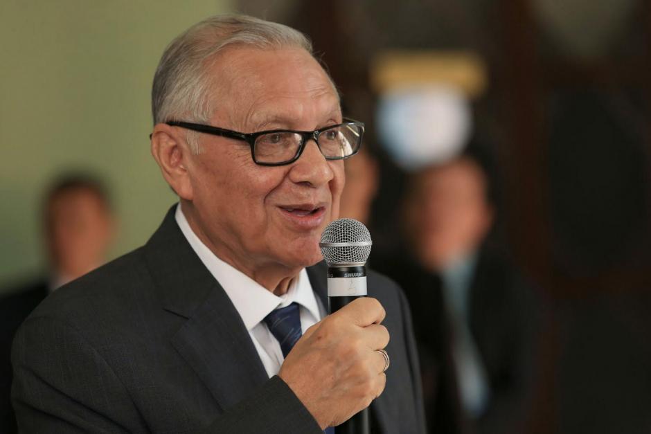 El Presidente Maldonado explicó que también se analiza la desaparición de la Copret. (Foto: Presidencia)