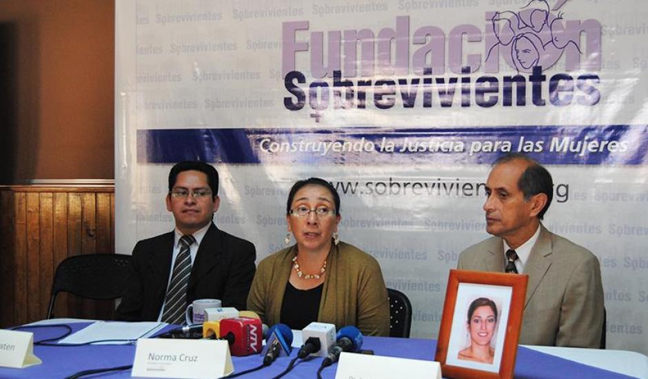 La Fundación Sobrevivientes y familiares de Cristina denunciaron la anomalía. (Foto: Fundación Sobrevivientes)