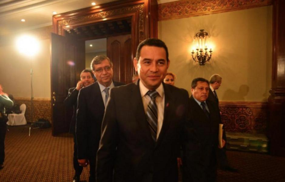 El presidente electo, Jimmy Morales, tendrá toda una semana de agenda privada, lejos de la opinión pública. (Foto: Archivo/Soy502)