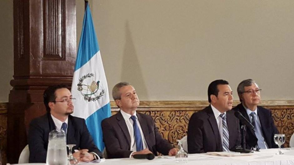 El pasado lunes, el presidente electo, Jimmy Morales, presentó a su equipo de transición. (Foto: Archivo/Soy502)