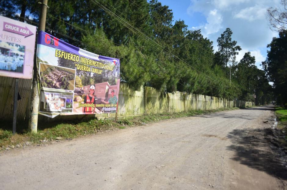 """La construcción de """"Querida Familia"""" se realizará en el kilómetro 26, de la carretera a Mataquescuintla. (Foto: Jesús Alfonso/Soy502)"""