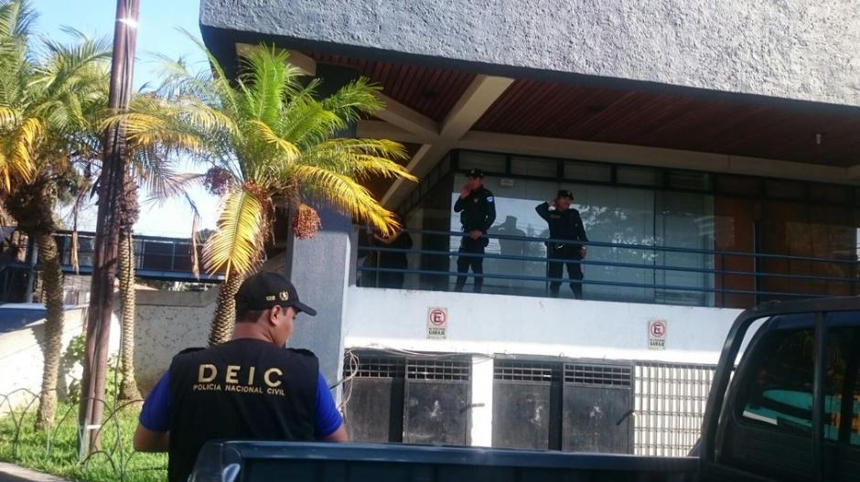 La División Especializada en Investigación Criminal de la PNC se encuentra apoyando las acciones contra la trata de personas. (Foto: MP)