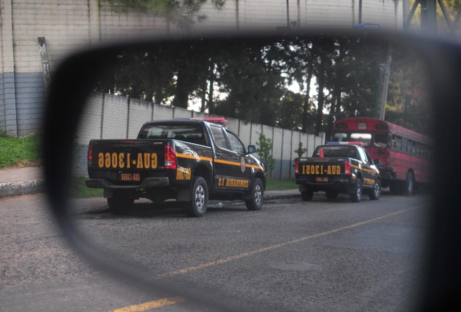 El vocero de la PNC aseguró que a pesar del desalojo, los patrullajes continuarán con normalidad. (Foto: Alejandro Balán/Soy502)