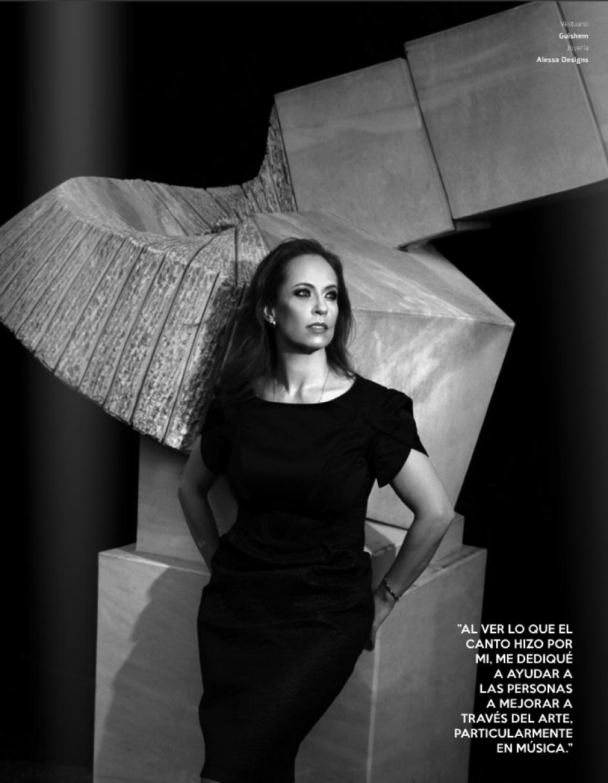 La cantante de ópera Tita Maegli cuenta que este año ha sido de muchas alegrías en su carrera.(Foto: Look Magazine)