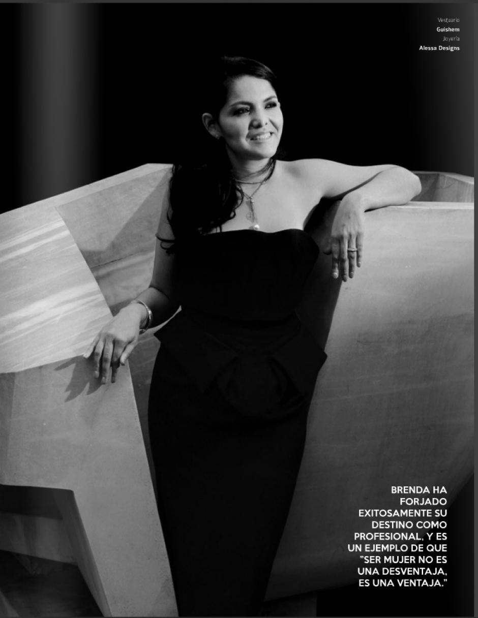 Brenda Zaldaña busca que Guatemala sea reconocida en todo el mundo a través de su trabajo en marketing.(Foto: Look Magazine)