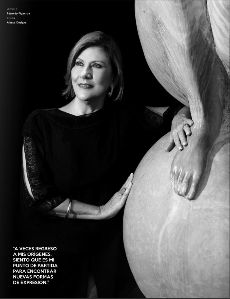 Lucía Rohrmann ha destacado en la pintura. El apoyo de su familia ha sido fundamental para lograr sus sueños.(Foto: Look Magazine)