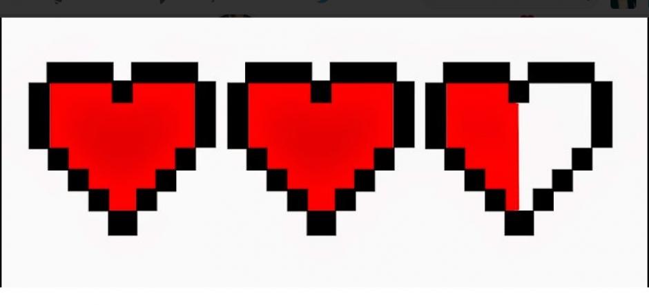 Los corazones fueron comparados con la aplicación Facebook. (Foto: Twitter)