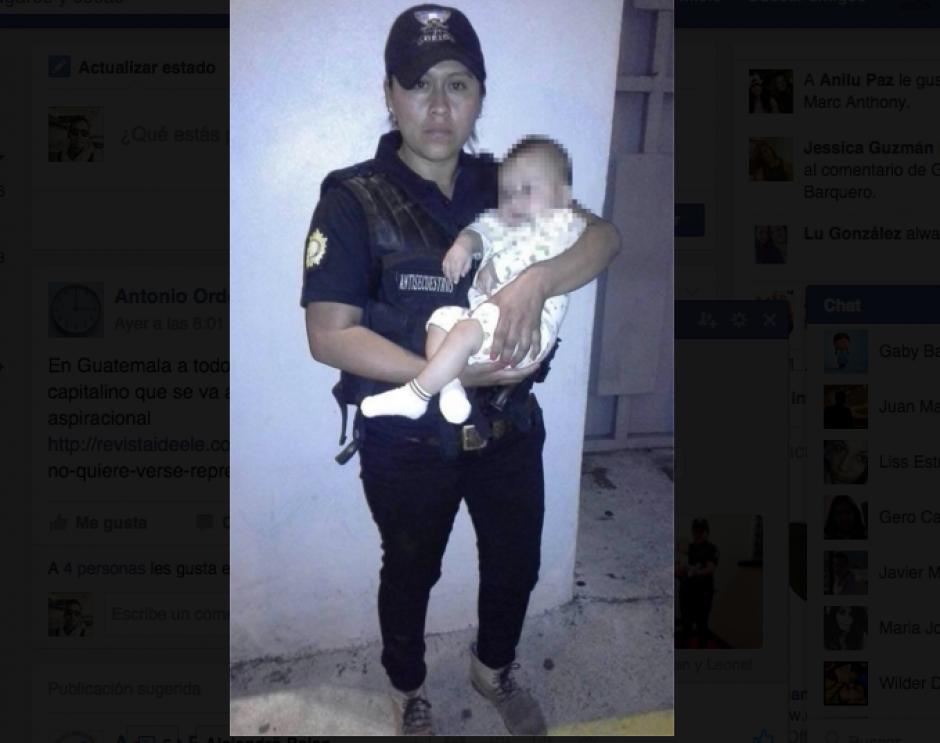El bebé fue raptado el pasado lunes en un sector de Ciudad San Cristóbal. (Foto: PNC)