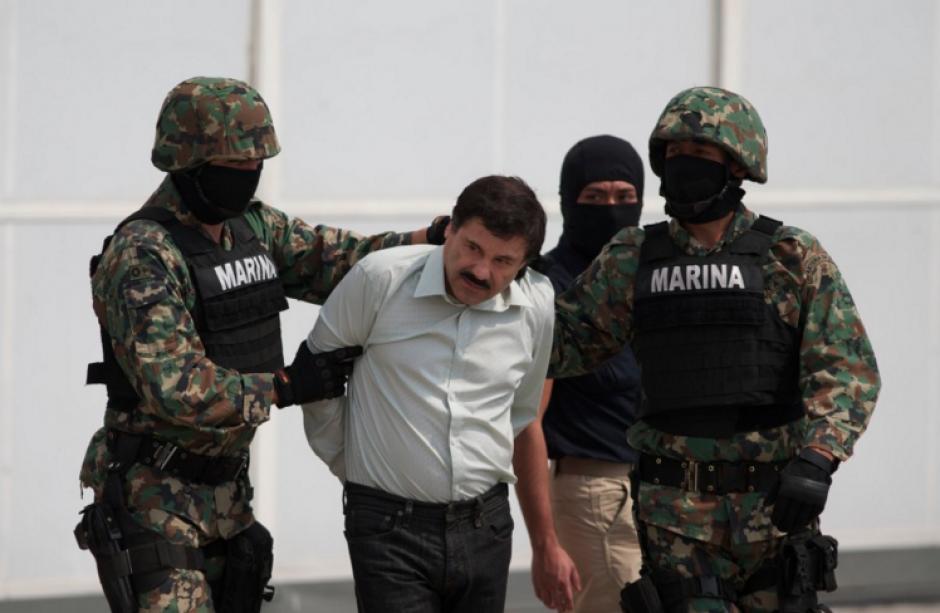 """El Gobierno argentino puso hoy en alerta a sus fuerzas de seguridad ante la posible presencia del capo mexicano Joaquín """"El Chapo"""" Guzmán Loera. (Foto: AFP)"""