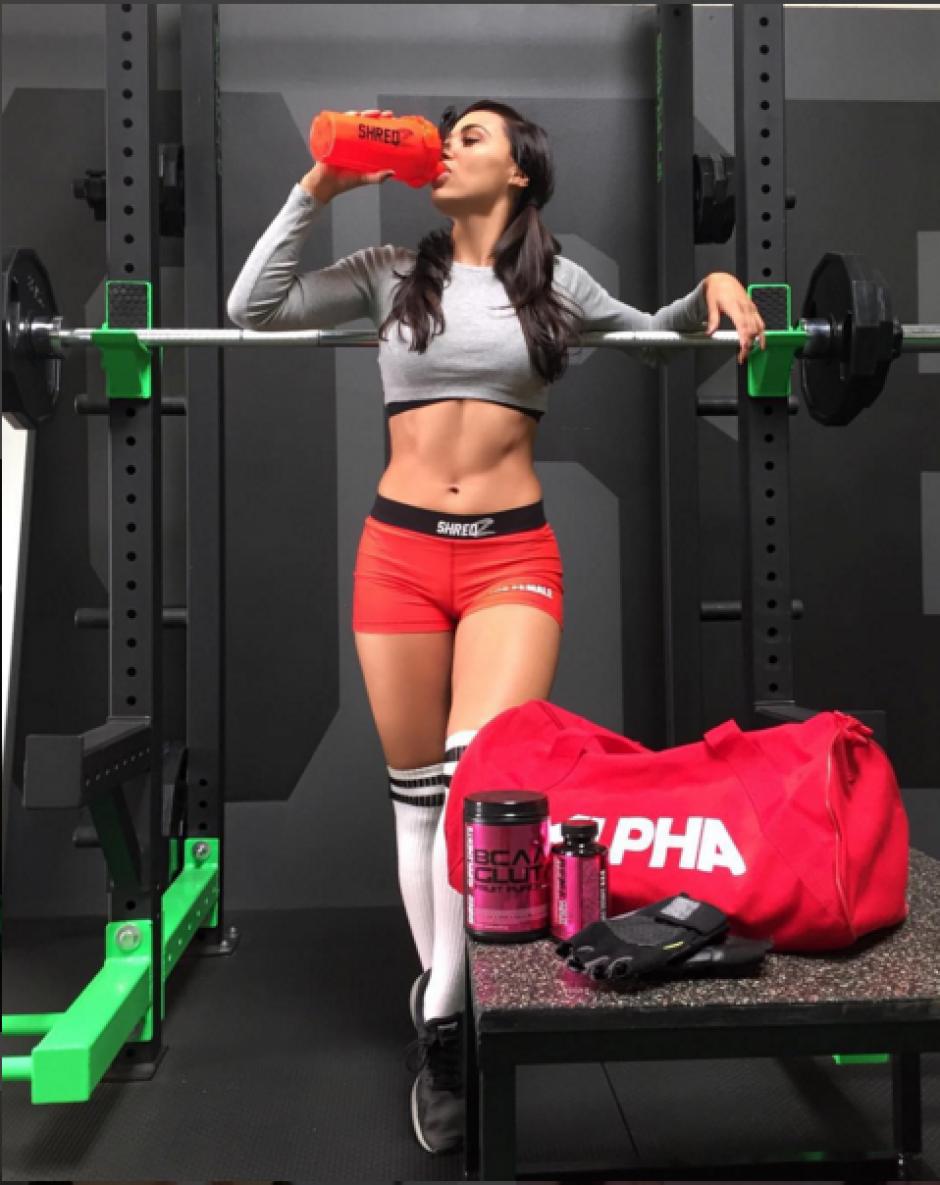 Si quieres conocerla, deberás asistir al gimnasio y convertirte en un verdadero atleta.(Foto: Instagram Ana Rechi)