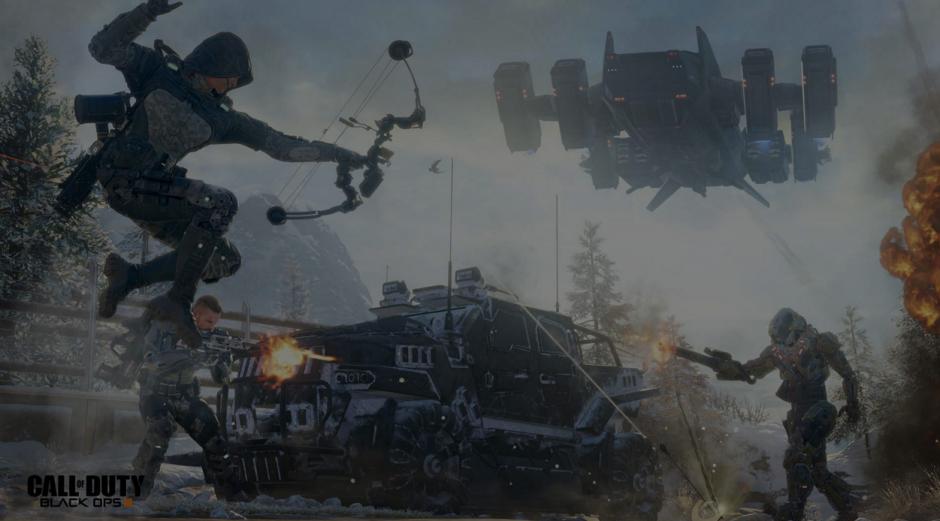 """""""Call of Duty: Black Ops III"""" es un videojuego repleto de aventuras y circunstancias inesperadas. (Call of Duty)"""