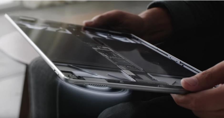 El nuevo modelo de tableta de Apple, iPad Pro, presentada como el más potente de la gama con capacidades para reemplazar una computadora de escritorio. (Foto: YouTube)