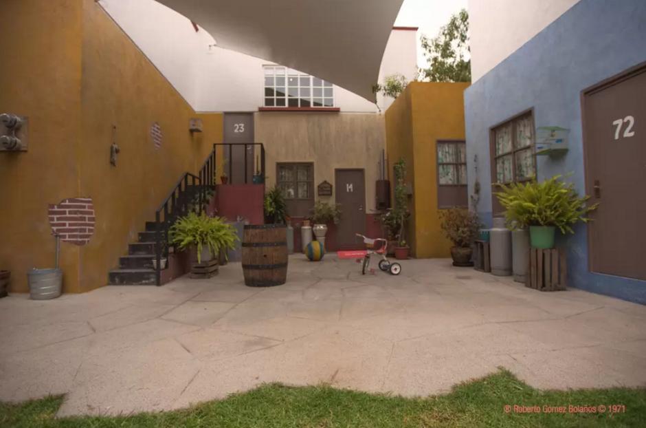 """Cada uno de los detalles de la vecindad de """"El Chavo del 8"""" se observan en este lugar. (Foto: Airbnb)"""