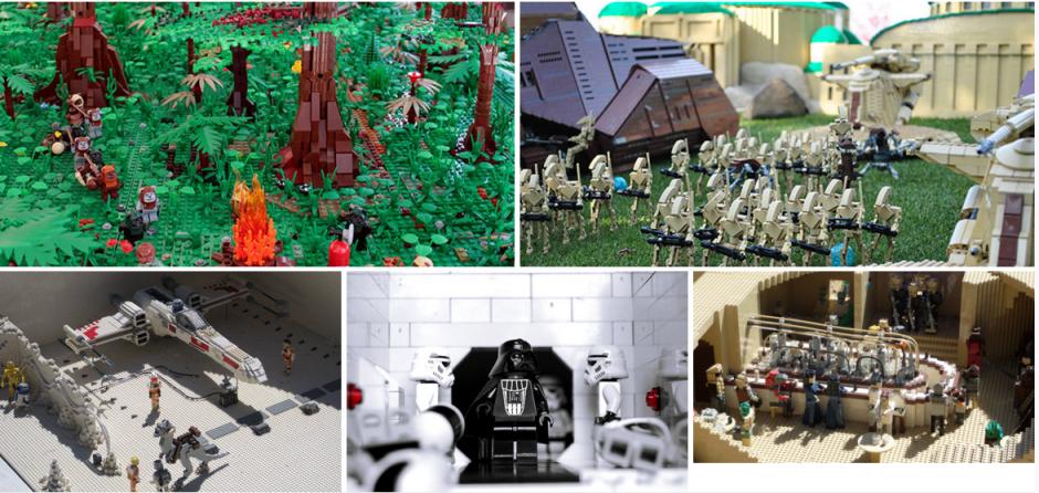 Los Legos se ubican entre las búsquedas de regalos para navidad.(Foto:ibmwatsontrend)