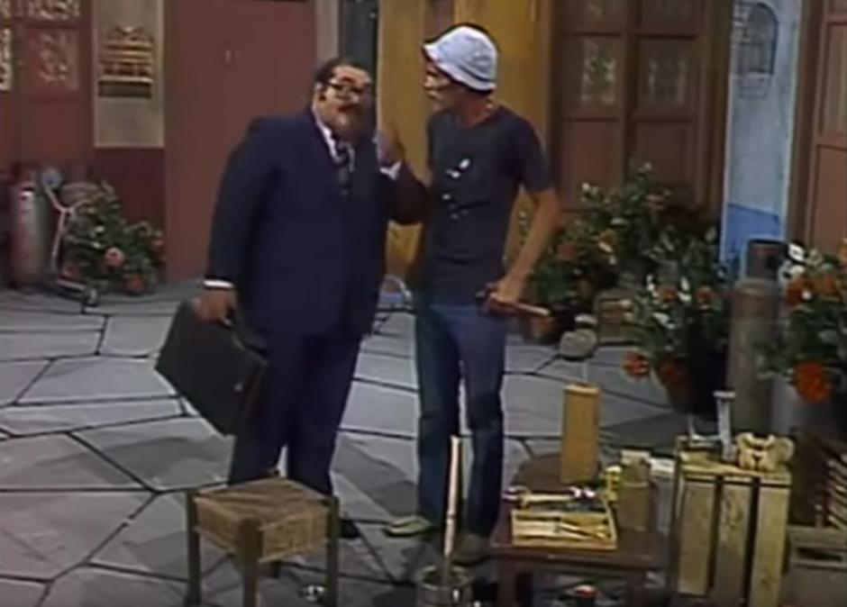 Don Barriga siempre le cobraba la renta a Don Ramón. (Imagen: YouTube)