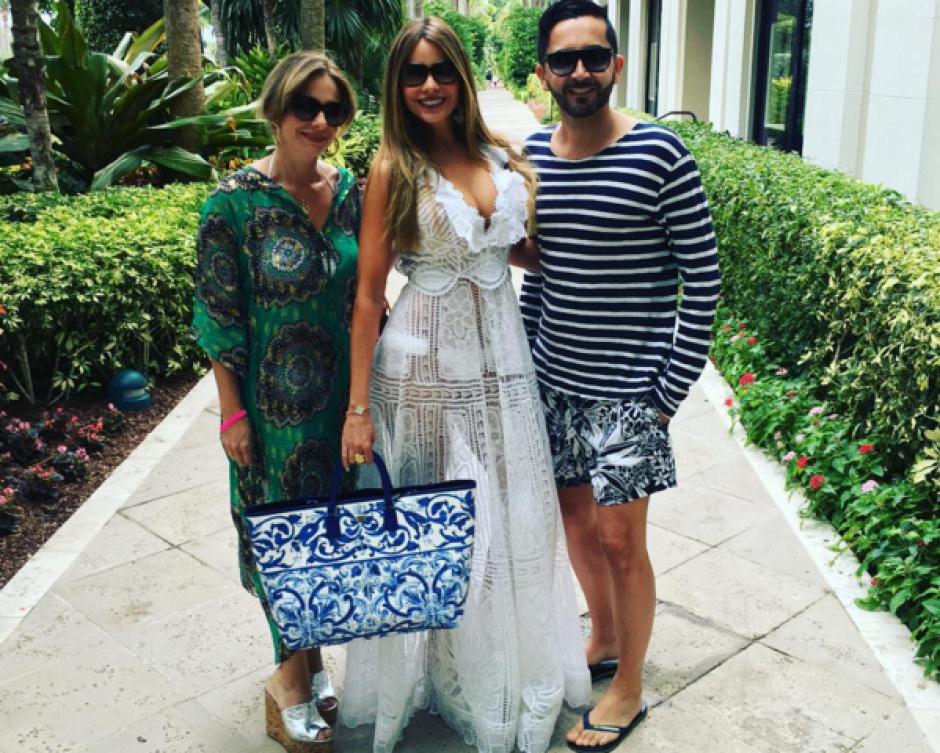 Sofía Vergara comparte en su cuenta de Instagram las horas previas a su boda. (Foto: Sofia Vergara/Instagram)