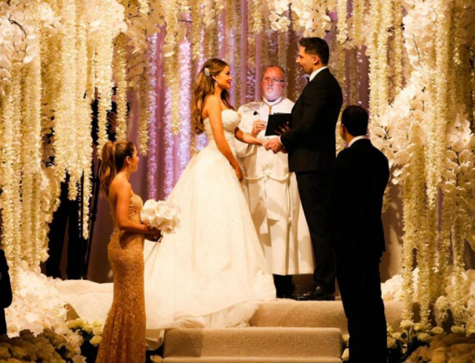 La actriz colombiana Sofía Vergara y el actor Joe Manganiello se casaron. (Foto: Instagram/Sofía Vergara)