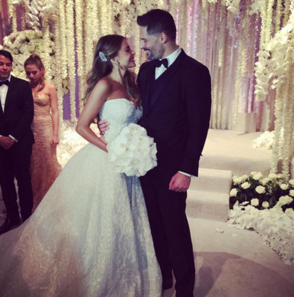 Sofía Vergara y Joe Manganiello se casaron. (Foto: Instagram/Sofía Vergara)