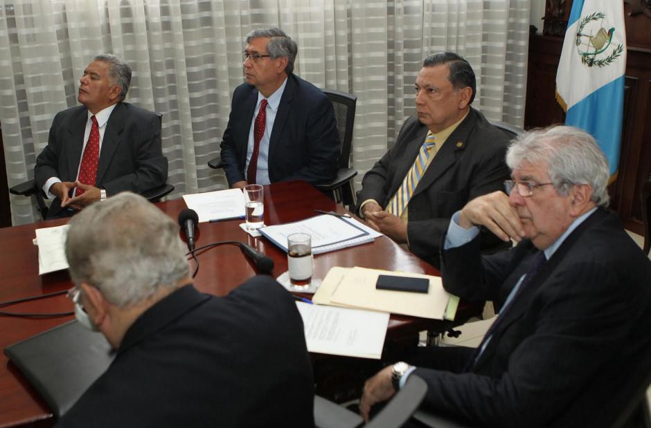 Este lunes, los exvicepresidente participaron en el Gabinete Económico. (Foto: Presidencia)