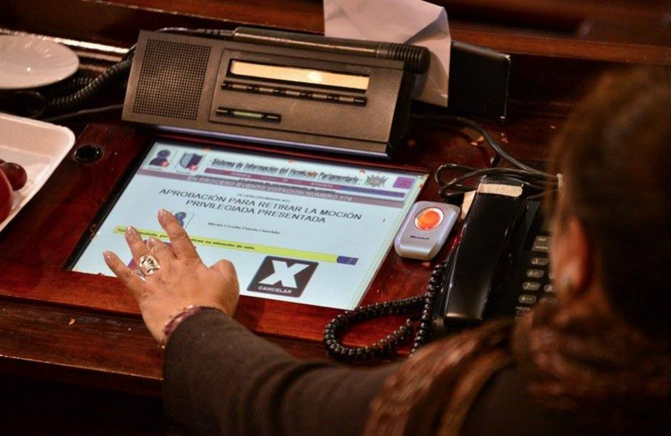 Durante los procesos de votación, los diputados no lograron consensos para la aprobación de las iniciativas. (Foto: Wilder López/Soy502)