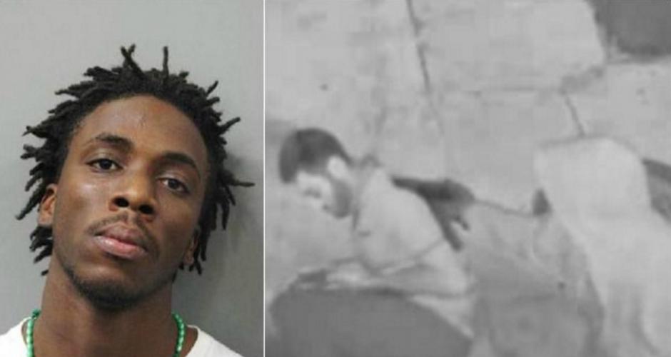 Este es Euric Cain, el hombre que intentó matar al estudiante de medicina y fue detenido. (Foto: NBC)