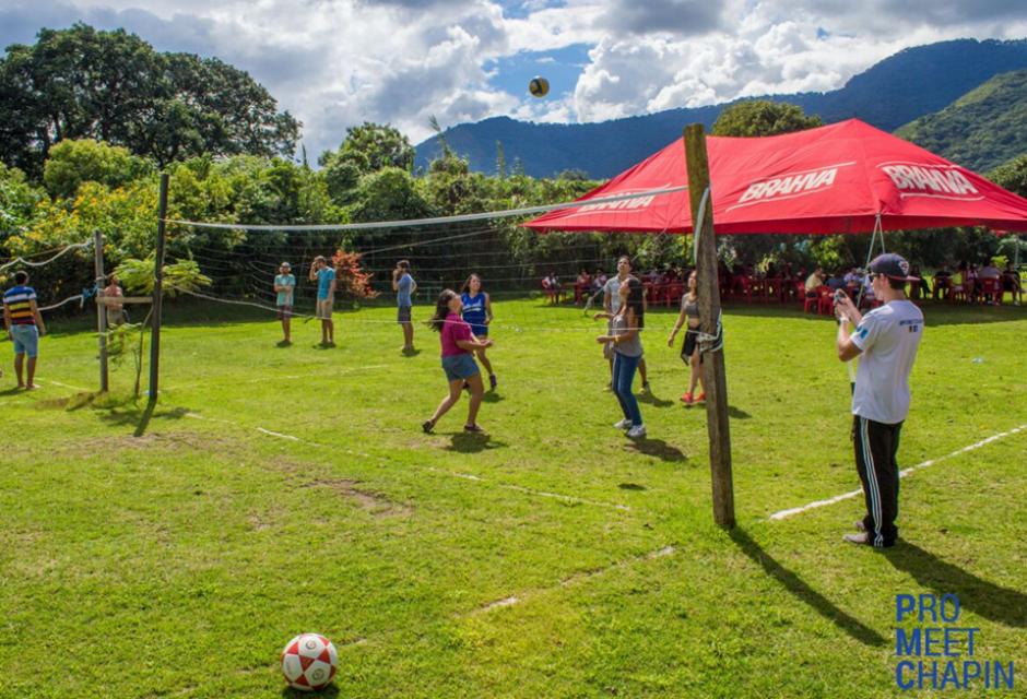 Las actividades deportivas permitieron participaciones individuales y grupales. (Foto: ProMeetChapin)