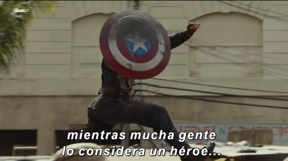 """Las primeras imágenes de la cinta """"Civil War"""". (Imagen: YouTube/Marvel)"""