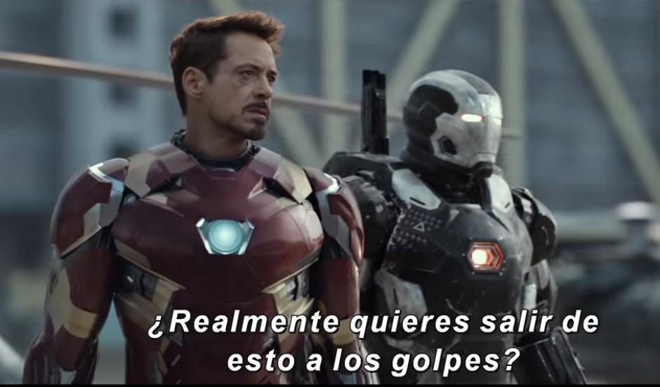 Iron Man pelea por defender sus ideales. (Imagen: YouTube/Marvel)