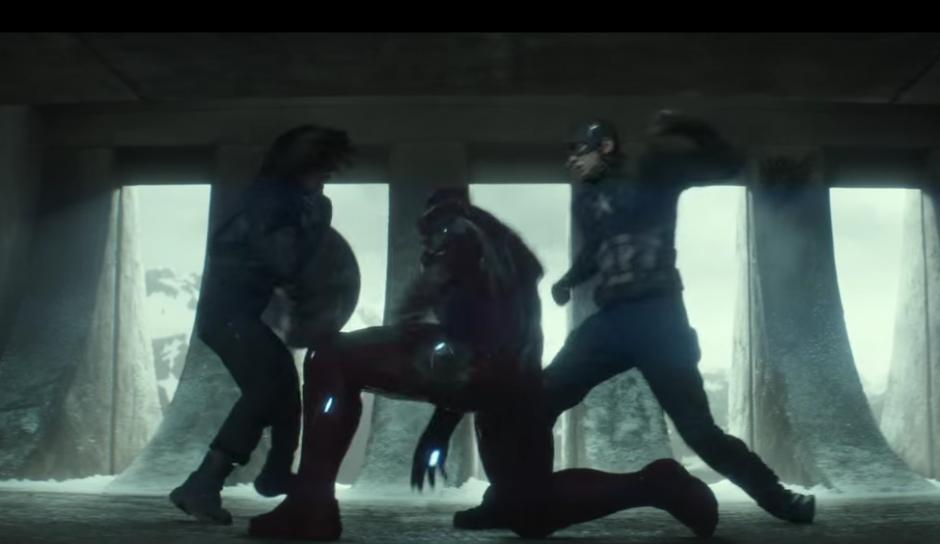 Iron Man y el Capitán América se enfrentan. (Imagen: YouTube/Marvel)