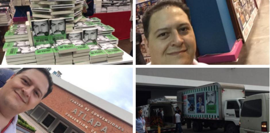 """Juan Pablo Escobar, Hijo de Pablo Escobar, tras años de silencio y de exiliarse su rostro y testimonio ha captado la atención tras el libro """"PEcados de mi padre"""" en 2009 y la creación de una línea de ropa también enfocada en su progenitor. (Foto:hipertextual.com)"""