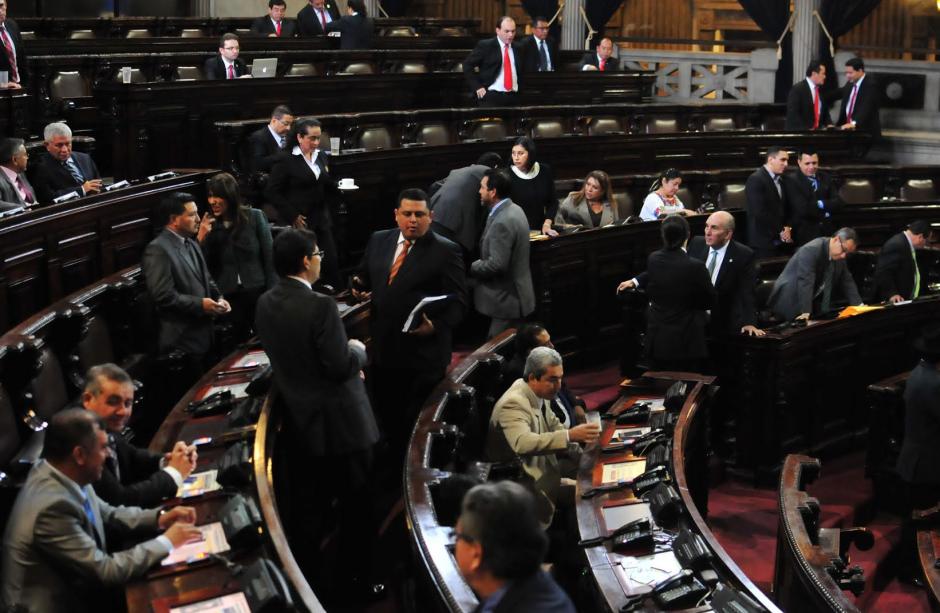 El Congreso volverá a reunirse el lunes, para aprobar el Presupuesto 2016. (Foto: Alejandro Balán/Soy502)