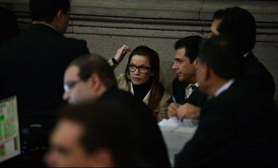 El pasado jueves, Daniela Beltranena se acercó a la Junta Directiva, pero finalmente desistió y no ratificó su renuncia. (Foto: Wilder López/Soy502)