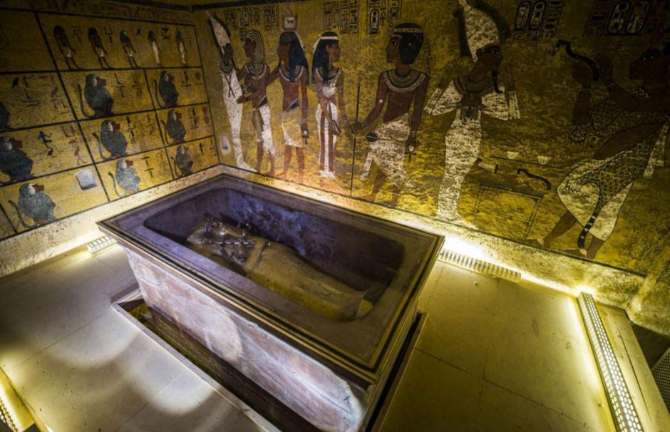 La tumba del faraón Tutankamón podría esconder el secreto mejor guardado: La tumba de Nefertiti. (Foto: CNN en español)