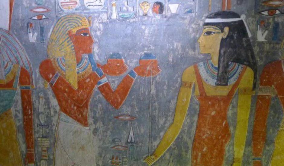 Los arqueólogos aseguran que están 90% seguros de que existe una cámara secreta en la tumba de Tutankamon. (Foto: CNN en español)