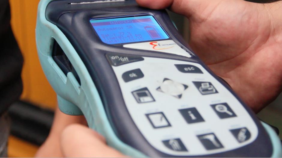 La medición de los sistemas es constante para analizar los efectos que tienen en el rendimiento del motor.(Foto: Fredy Hernández/Soy502)