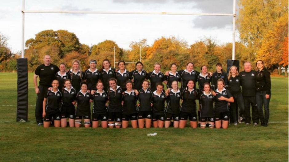 Equipo de rugby femenino de la universidad de Oxford. (Foto: Daily Mail)
