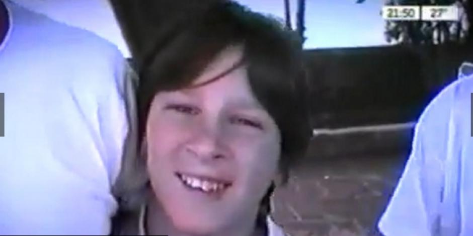 Leo Messi a sus 12 años ya mostraba talento para jugar fútbol. (Foto: YouTube)