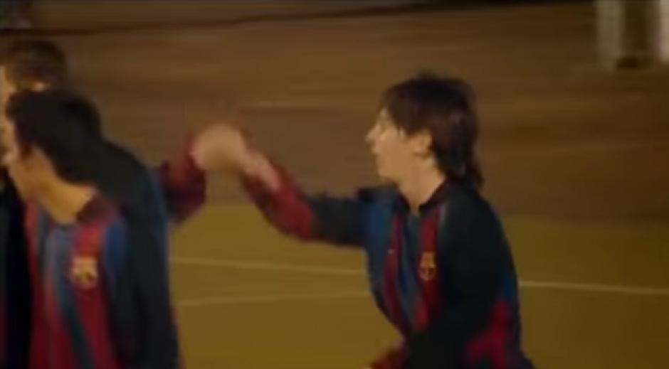 En el Barcelona juvenil Messi ya demostraba su talento. (Foto: YouTube)