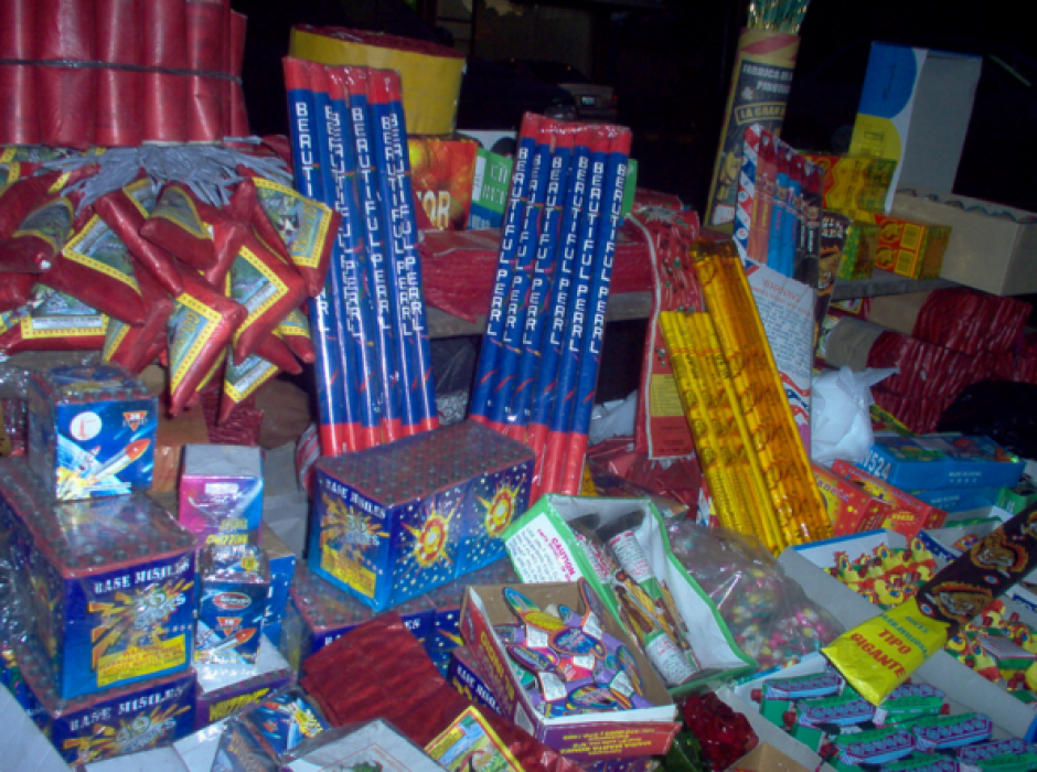 Los guatemaltecos gastan grandes cantidades de dinero en cohetillos. (Foto: Flickr/Pirotécnia en Guatemala)