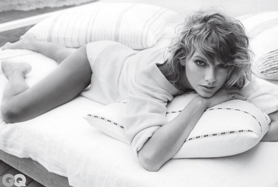 La cantante Taylo Swift posa para la revista GQ. (Foto: Taylor Swift/ Instagram)