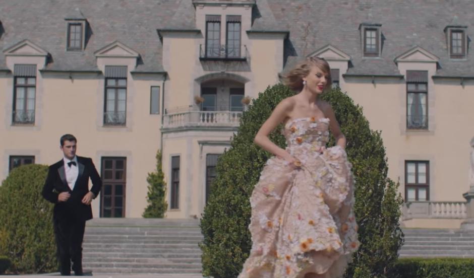 """A la mitad del conteo se encuentra el tema """"Blank Space"""", de Taylor Swift. (Imagen: YouTube/Taylor Swift)"""