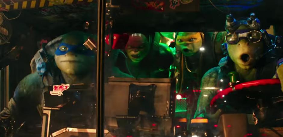 Las Tortugas Ninja en acción. (Foto: YouTube/Paramount Pictures)